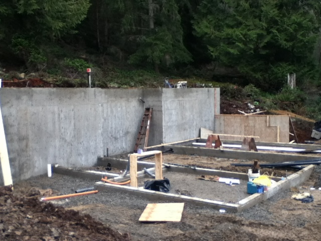 Poured Concrete Foundation